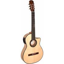 Guitarra Electroacústica La Alpujarra 86kec Sicomoro Nueva