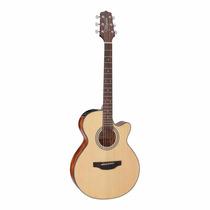 Guitarra Electroacústica Takamine Gf15ce Natural C/ Afinador