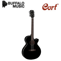 Guitarra Electro Acustica Cort Incluye Funda Sfx1f-bk