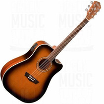 Oferta! Guitarra Electroacustica Washburn Wd7sce Atb Tobaco