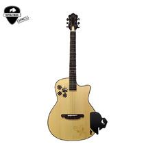 Guitarra Electro Acustica Sx Ecualizador Fishman + Funda