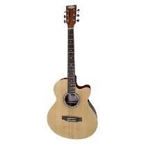 Guitarra Electroacustica Midland Con Eq/tuner En Ituz