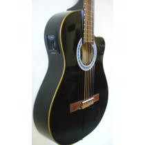 Guitarra Media Caja Electrocriolla Con Corte Ecualizador ,