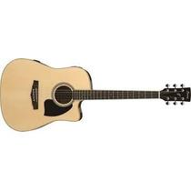 Guitarra Electroacustica Ibanez Pf15 Ece Natural