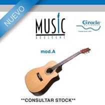 Guitarra Gracia Linea ¿premium¿ Mod. A - Bm Music Boulogne -