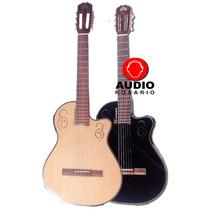 La Alpujarra Kec300 Guitarra Nylon Electroacustica Nat/neg