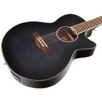 Ibanez Aeg24ii-tgb Guitarra Electroacustica Color Gray Burst