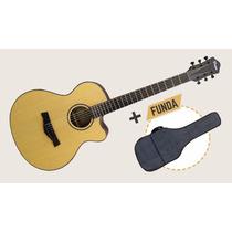 Guitarra Electroacústica Parquer Gac320mf Con Eq + Funda