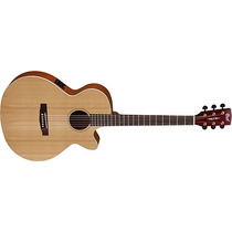 Guitarra Electro Acustica Cort Incluye Funda Sfx1f-ns