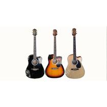 Guitarra Electro Acustica Shelter Afinador Eq Envio Gratis