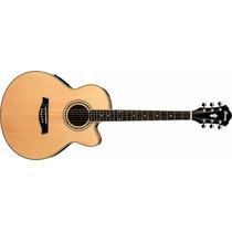 Guitarra Electroacustica Ibanez Ael10ems Con Fishan