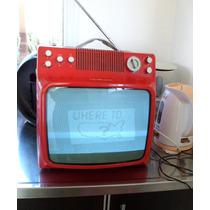 Televisor De Diseño Retro Noblex Byn Funciona Canal Aire 14