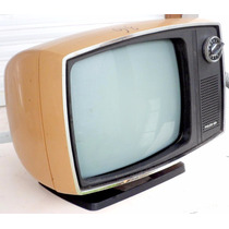 Tv Philco Ford Blanco Y N Func Impec Diseño Retro Vintage+