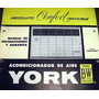 Manual Acondicionador De Aire York