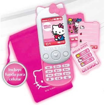 Hello Kitty Celular Con Funda Con Sonido Original Intek