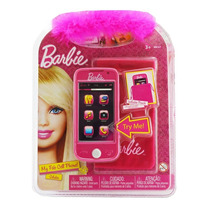 Barbie Celular Con Funda Con Sonido Intek My Fab Cell