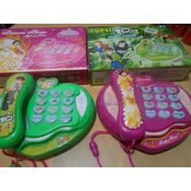 Telefono Musical Princesas Ben 10 Luz Sonido + Pilas!!!