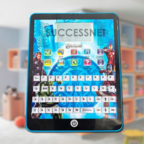 Tablet Infantil Avengers Vengadores Aprender Idiomas Disney