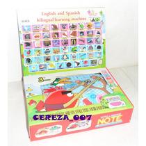 Computadora Didactica Infantil Español Ingles