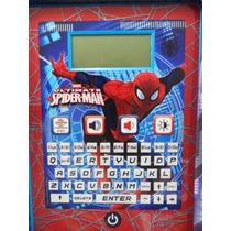 Tablet Educativa Con 80 Actividades Spiderman Bilingue