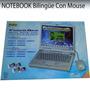 Notebook Bilingüe + Mouse + 4 Cartuchos 91 Activ 12 Cuotas!