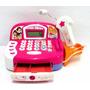 Caja Registradora Princesas Micrófono Calculadora Luz Sonido