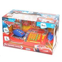 Caja Registradora Cars Microfono Ditoys Dia Del Niño