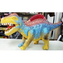 Dinosaurio, Camina, Sonido, Luces Y Pilas Tamaño Chico