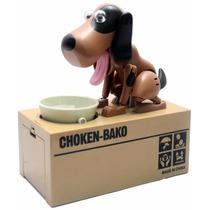 Alcancía Perro Come Monedas My Dog Piggy Bank Con Movimiento