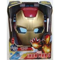 Màscara Casco Ironman 3 Hasbro Con Luz, Sonido Lanza Misiles