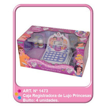 Caja Registradora Princesas De Lujo Xml 1473