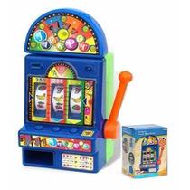Tragamonedas Fruit Machine Slot Luces Sonidos Reales Filsur