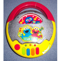 Cd Player Juguete Elmo (sesamo) Mattel + Lunchera Plin Plin