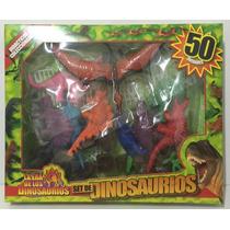 Set De Dinosaurios X 50 Zap 221