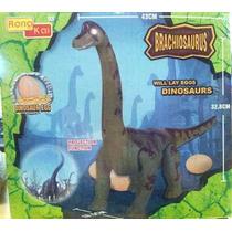 Dinosaurio Grande Proyecta Imagen C/huevos Luz Y Sonido