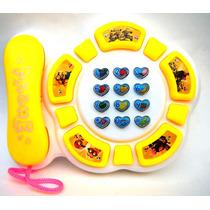 Telefono Minion Infantil Con Luces Y Sonidos