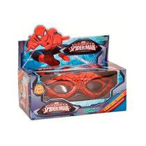 Mascara Con Luz Spiderman Licencia Original Ditoys