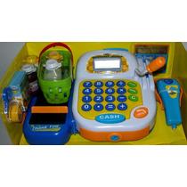 Maquina Registradora Sonido Microfono Calculadora Accesorios