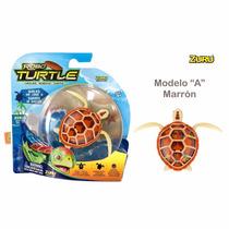 Robo Turtle Caminan Y Nadan Robòticas Originales Intek Tv
