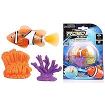 Robo Fish Se Activa Con El Agua