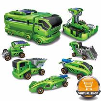 Juguete Solar 7en1 P/ Armar Camion Auto Moto Drone Original