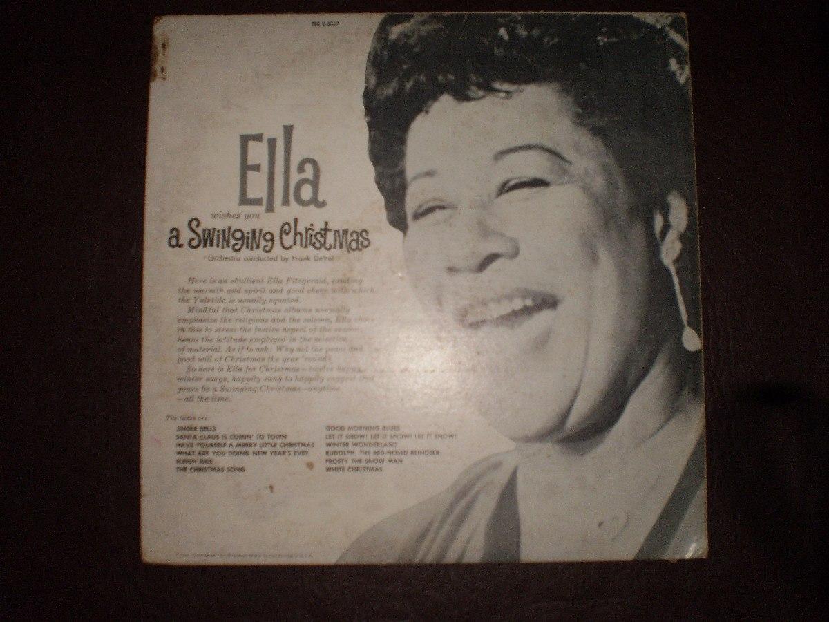 Ella Wishes You A Swinging Christmas.Alfa Img Showing Swinging Christmas Ella Fitzgerald Ella