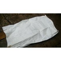 Bolsas De Rafia Blancas,polipropileno,un Solo Uso,exc.precio
