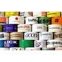 Cintas Adhesivas Impresas 48 Mm X 100mts Fondo Transparente