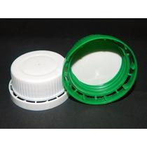 Tapa Precinto Para Bidones De 5 - 10 Litros X 50 U Plastico