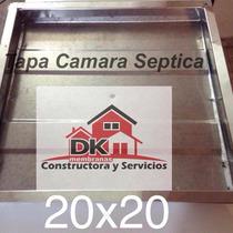 Tapa Camara Septica Inspeccion Cloaca 20 X 20 Cm Merc Envios