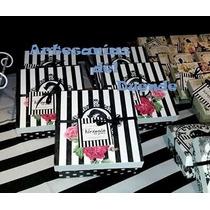 Souvenirs - Empresariales -10 Cajas 15x15 Cm Personalizadas