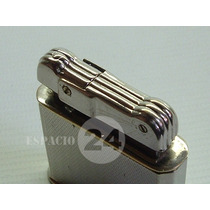Antiguo Encendedor Mechero Lighter De Cabezal Art Decó