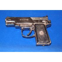 Antiguo Encendedor Pistola De Hong Kong-la Plata