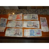 Billetes Antiguos Lote De Billetes Argentinos Y Brasilero